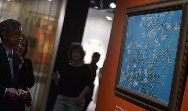 Vincent van Gogh Almond blossom Fine Art Glic\u00e9e SKU 0038 1890