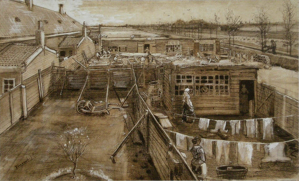 Carpenters Yard And Laundry