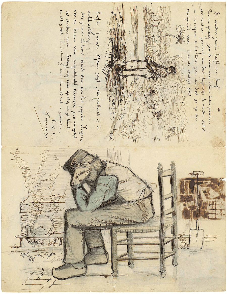 Letter 09/01/1881 - by Vincent van Gogh