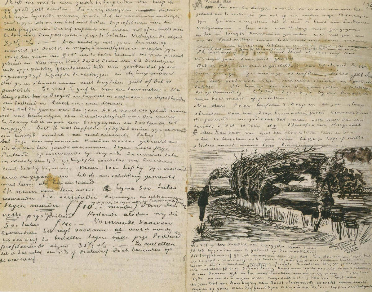 Letter 07/29/1883 - by Vincent van Gogh