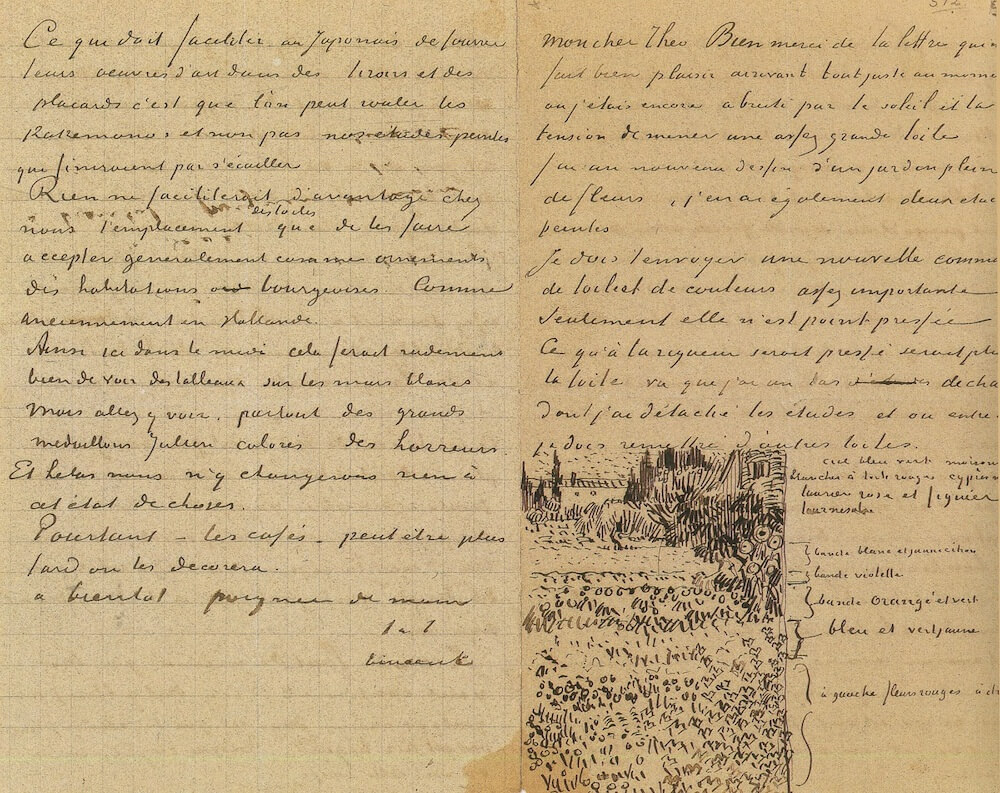Letter 07/19/1888 - by Vincent van Gogh