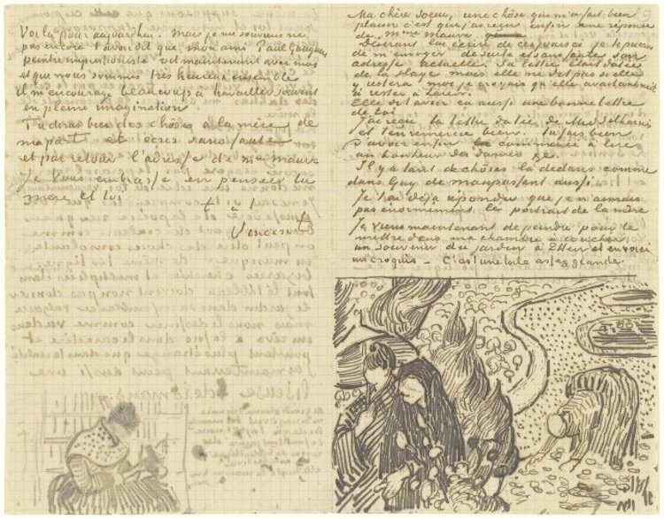 Letter 11/12/1888 - by Vincent van Gogh