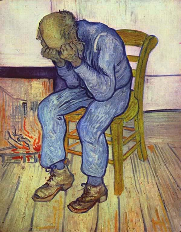 Image result for at eternity's gate van gogh painting