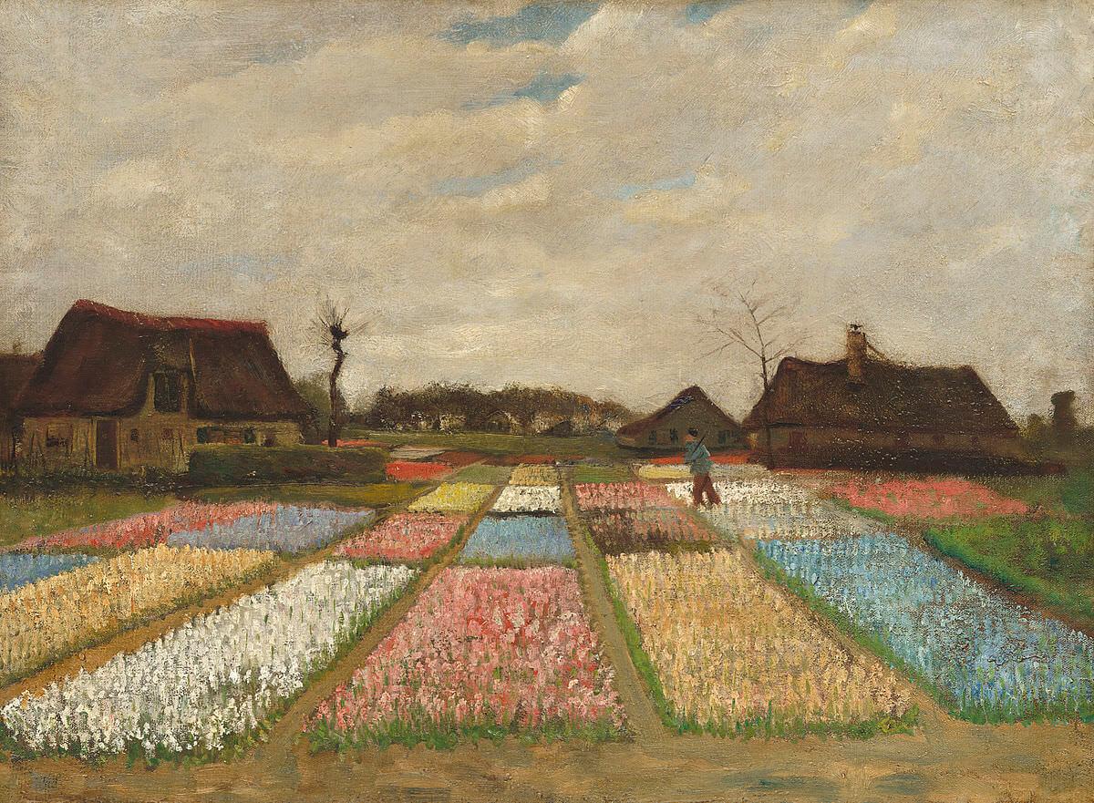 Bulb Fields - by Vincent van Gogh