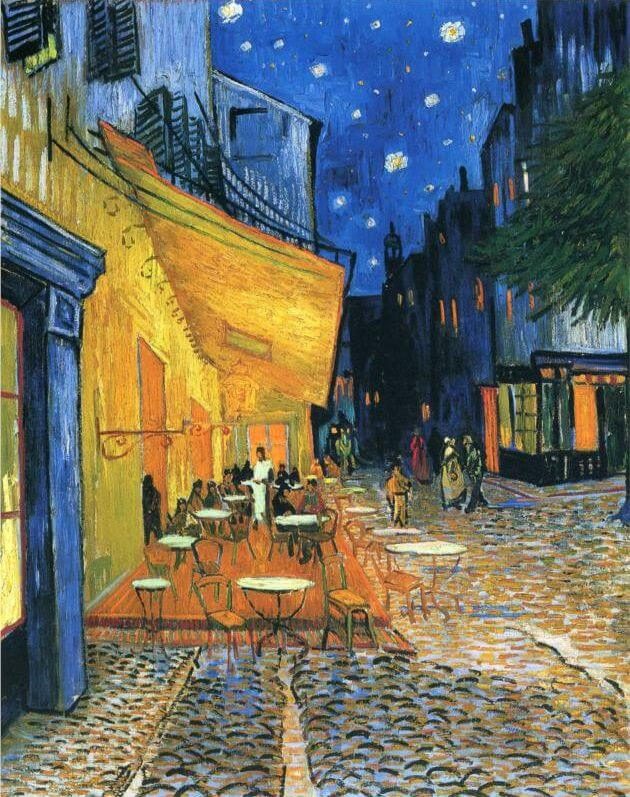 10 facts that you don t know about van gogh s café terrace at night