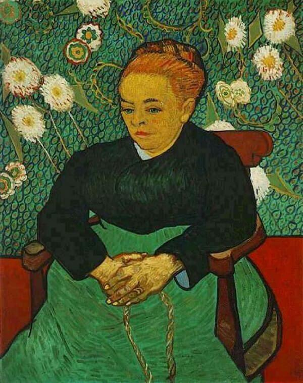 La Berceuse, 1889 by Vincent Van Gogh