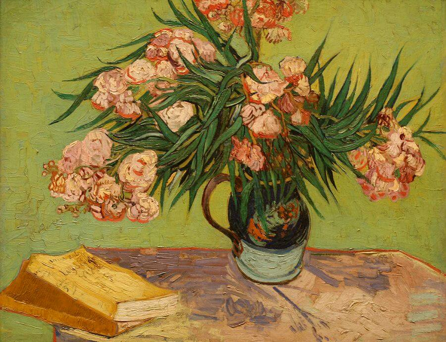 Oleanders, 1888 by Vincent Van Gogh
