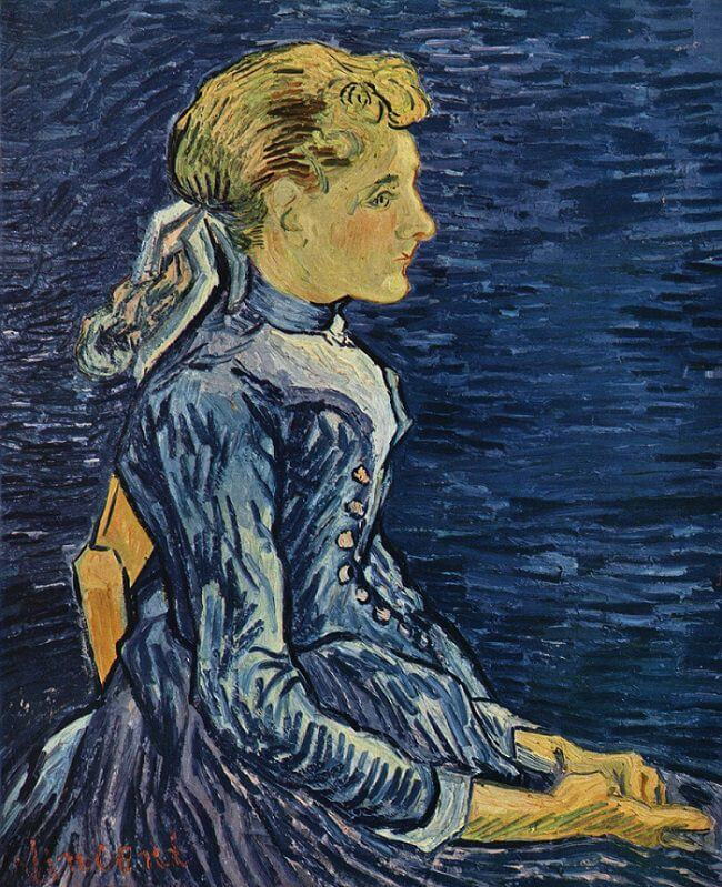 Portrait of Adeline Ravoux, 1890 by Vincent Van Gogh