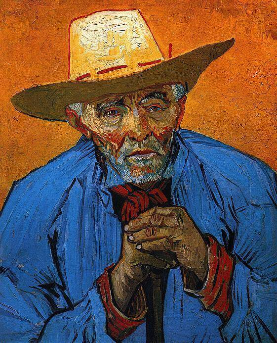 Portrait of Patience Escalier, 1888 by Vincent Van Gogh