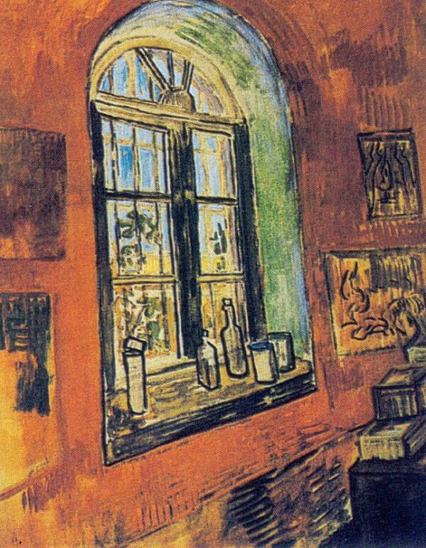 Studio Window, 1889 by Vincent Van Gogh