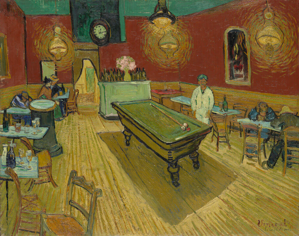 Image result for night cafe van gogh