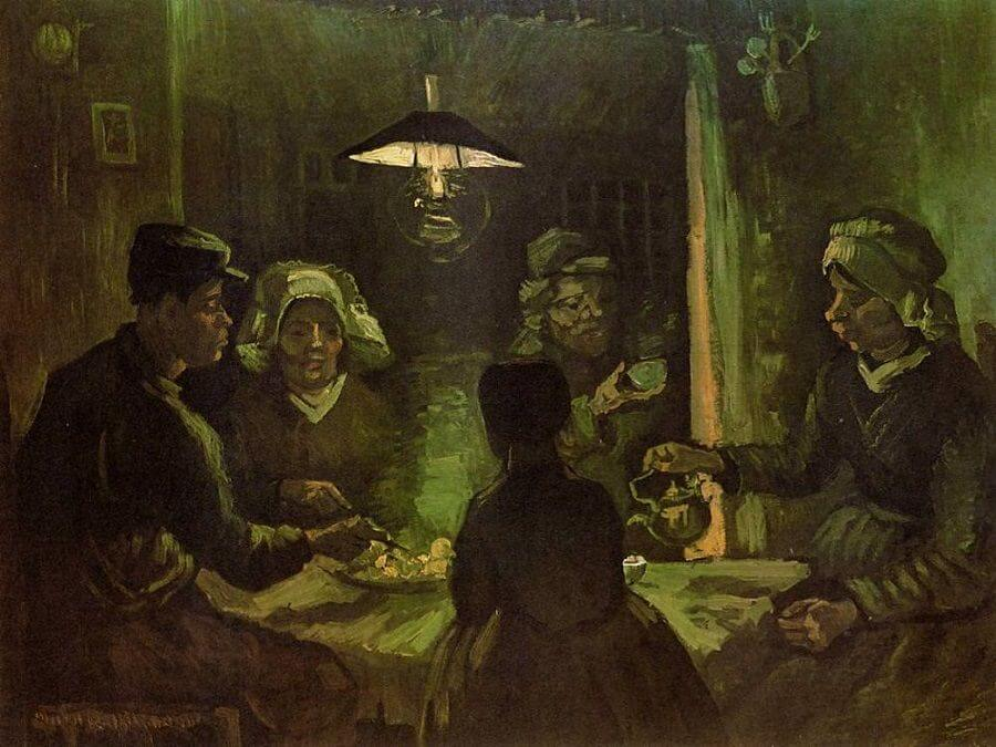 The Potato Eaters, 1885 by Van Gogh