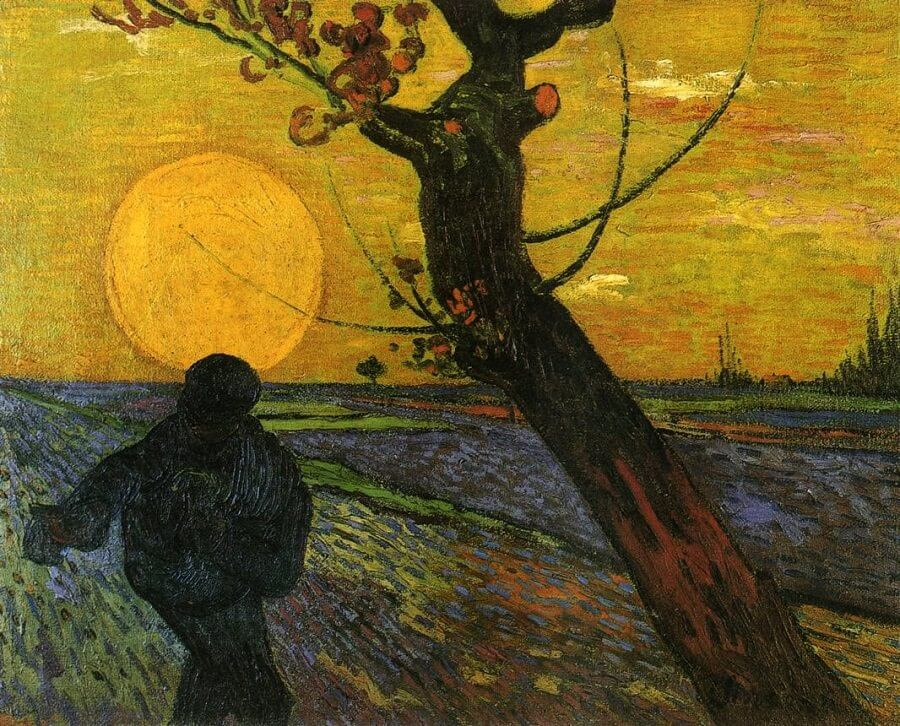 The Sower, 1889 by Vincent Van Gogh