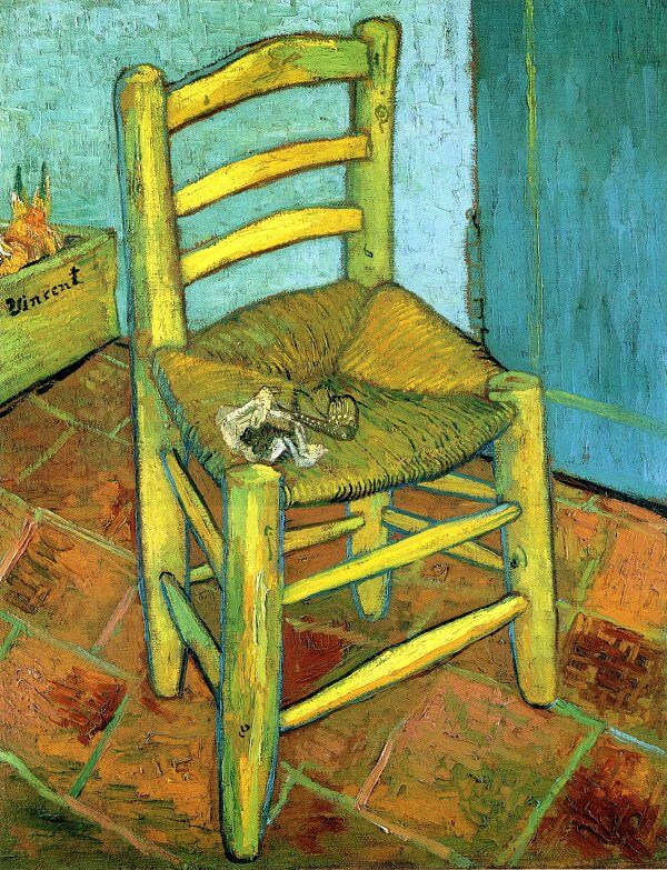 Van Gogh's Chair, 1888 by Van Gogh