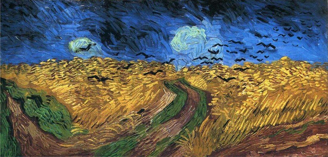 10 Facts that You Don't Know About Wheatfield with Crows by Van Gogh