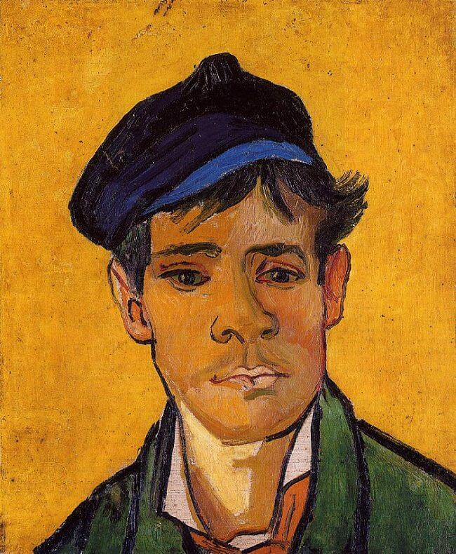 Young Man with a Cap, 1888 by Vincent Van Gogh