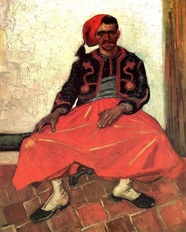 Zouave, 1888 by Vincent Van Gogh