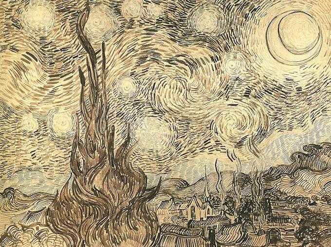 10 Facts That You Don T Know About Starry Night By Vincent Van Gogh