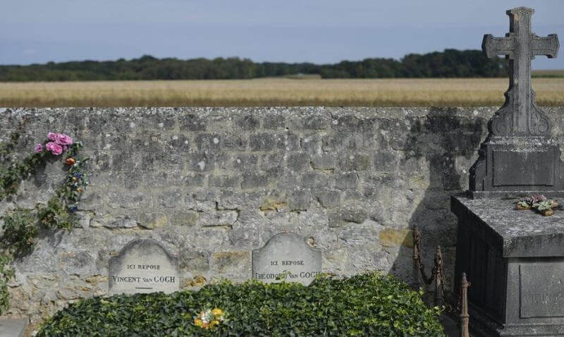 Graves of Van Gogh and Theo at Auvers-sur-Oise